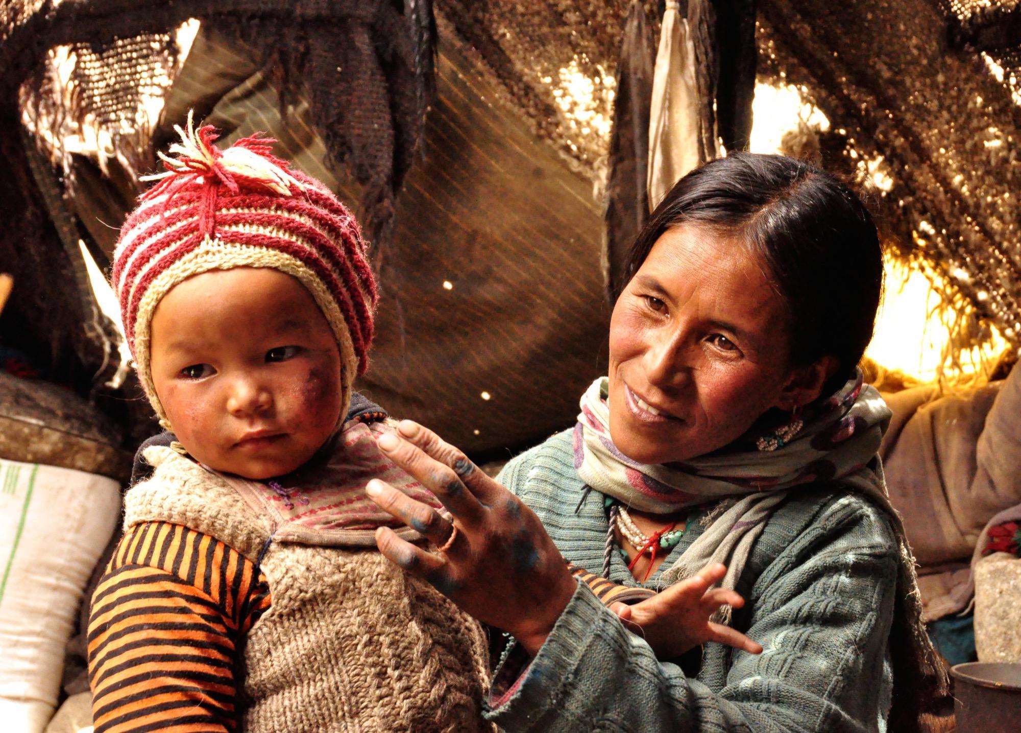 Avontuurlijke reizen met kinderen Ladakh