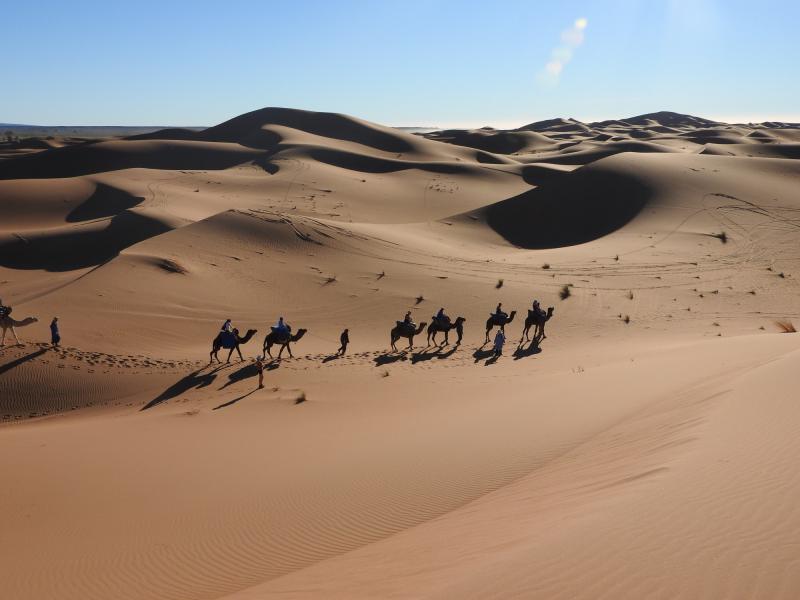 Actieve vakantie met kinderen Marokko